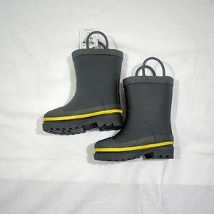 Toddler Boys Sz 5/6 Splash Rain Boots - NWT